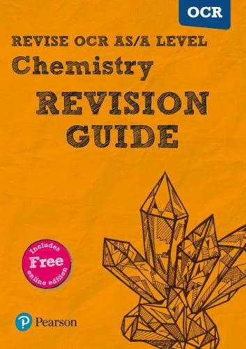 REVISE OCR AS/A Level Chemistry Revision Guide (with online edition) By David Brentnall