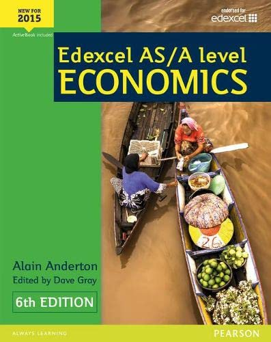 Edexcel AS/A Level Economics Student book + Active Book By Alain Anderton