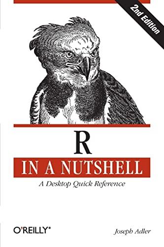 R in a Nutshell By Joseph A. Adler