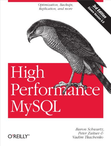 High Performance MySQL: Optimization, Backups, and Replication By Baron Schwartz