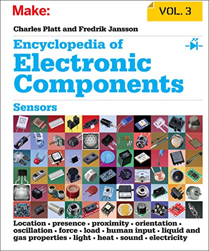 Make: Encyclopedia of Electronic Components Volume 3: Light, Sound, Heat, Motion, Ambient, and Electrical Sensors By Charles Platt