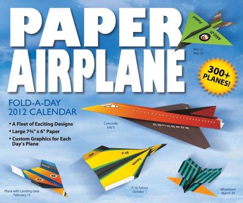 Paper Airplane 2012 Box Calendar By Kyong Lee