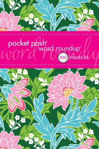 Pocket Posh Word Roundup 5: 100 Puzzles by The Puzzle Society
