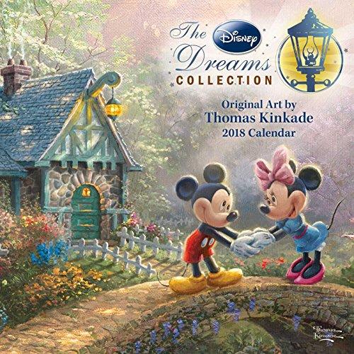 Thomas Kinkade: the Disney Dreams Collection 2018 Mini Wall Calendar By Thomas Kinkade