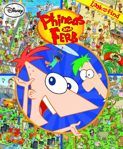 Look and Find: Phineas and Ferb