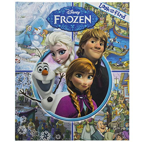 Disney Frozen Look & Find By Publications International