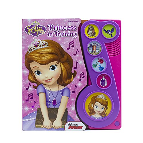 Sofia The First Musical Book (Sofia the First: Play-a-song)