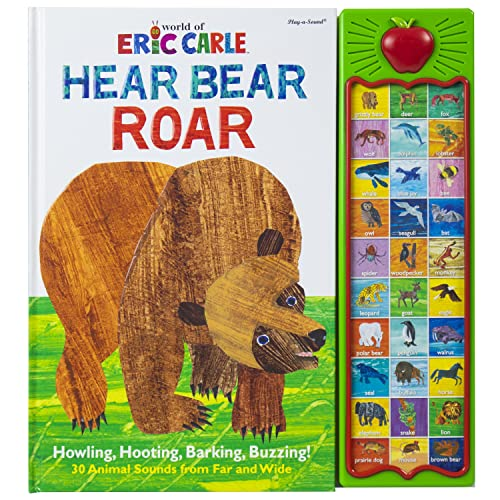Hear Bear Roar By Eric Carle