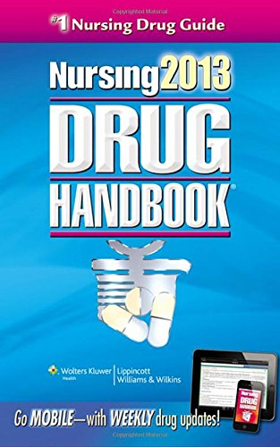 Nursing Drug Handbook By Lippincott Williams & Wilkins