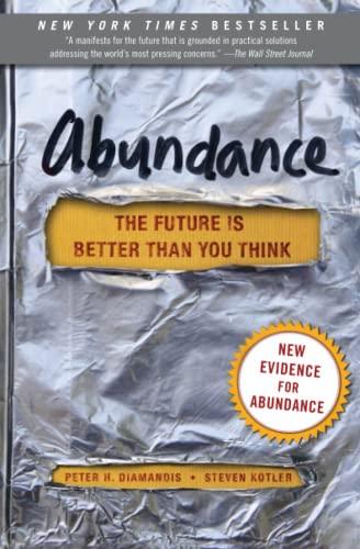 Abundance By Peter H. Diamandis
