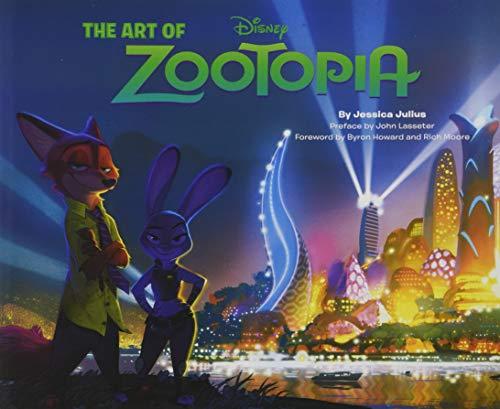 Art of Zootopia By Jessica Julius