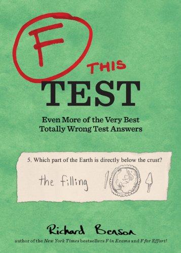 F This Test By Kamens Richard Benson