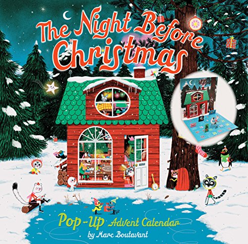 The Night Before Christmas Pop-Up Advent Calendar By Marc Boutavant