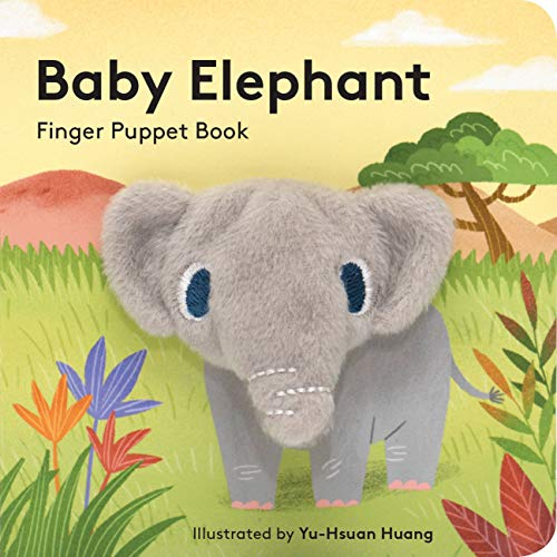 Baby Elephant: Finger Puppet Book By Yu-Hsuan Huang