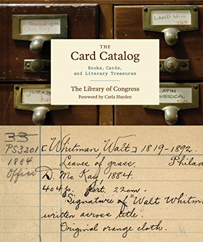 Card Catalog By Compiled by Library of Congress