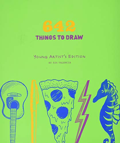 642 Things to Draw: Young Artist`s Edition von 826 Valencia