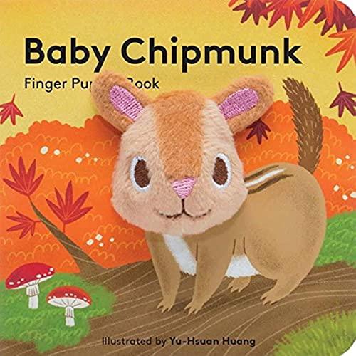 Baby Chipmunk: Finger Puppet Book By Yu-Hsuan Huang