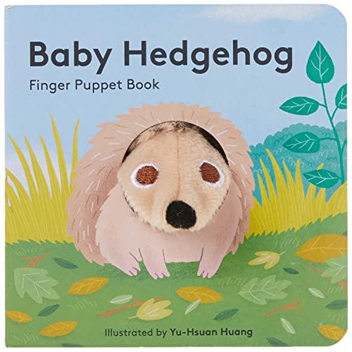 Baby Hedgehog: Finger Puppet Book By Yu-Hsuan Huang