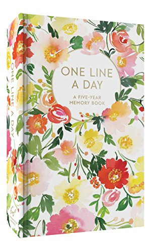 Floral One Line a Day: A Five-Year Memory Book By Designed by Yao Cheng