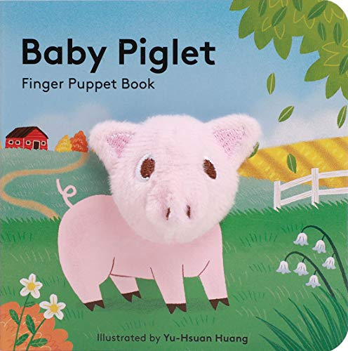 Baby Piglet: Finger Puppet Book By Yu-Hsuan Huang