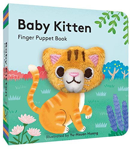 Baby Kitten: Finger Puppet Book By Yu-Hsuan Huang