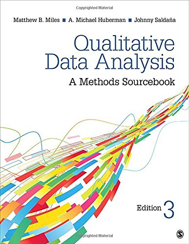 Qualitative Data Analysis: A Methods Sourcebook By Matthew B. Miles