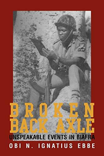 Broken Back Axle By Obi N Ignatius Ebbe