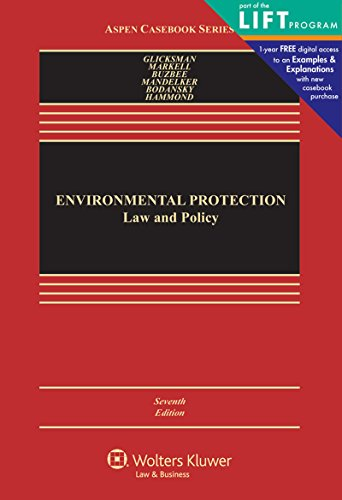 Environmental Protection By Robert L Glicksman