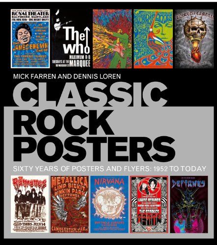 Classic Rock Posters By Dennis Loren