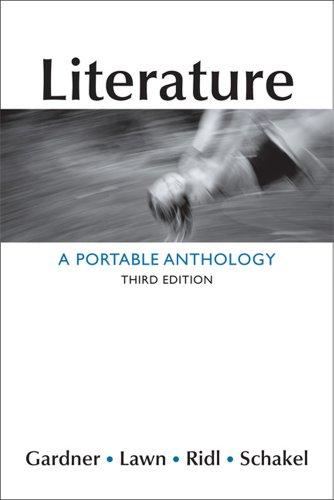 Literature By University Janet E Gardner (University of Massachusetts Dartmouth)
