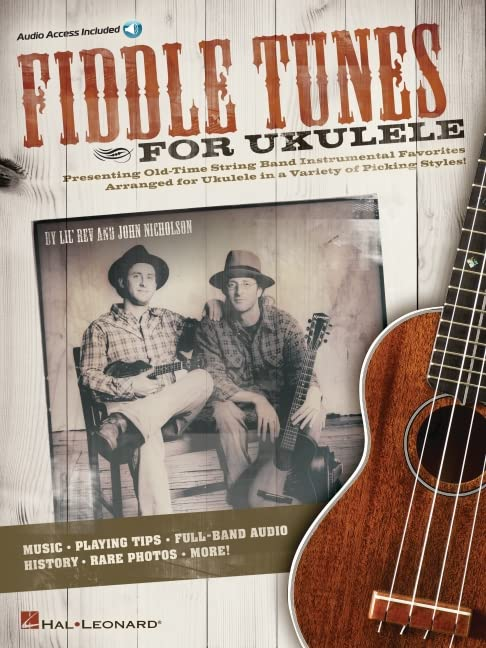 Fiddle Tunes for Ukulele By Lil' Rev