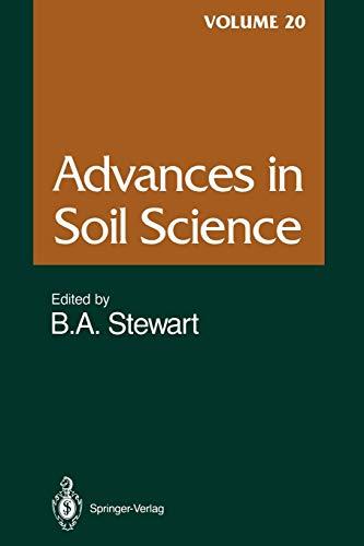 Advances in Soil Science By M. Becker
