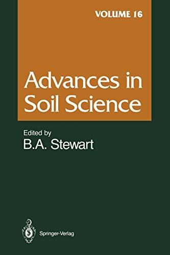 Advances in Soil Science By D.L. Brakensiek