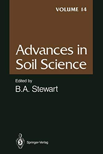 Advances in Soil Science By J.B. Harsh
