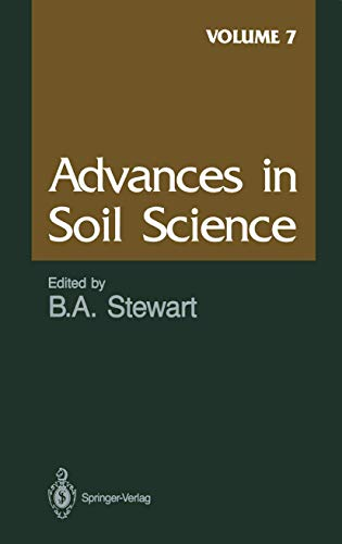 Advances in Soil Science By D.W. Anderson