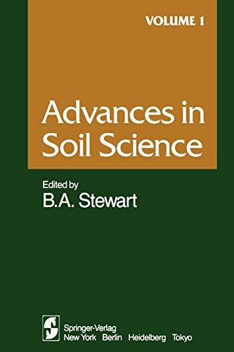 Advances in Soil Science By F.T. Bingham
