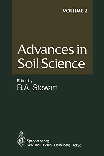 Advances in Soil Science By E. Bragg