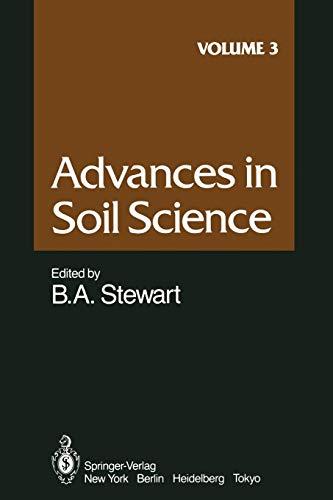 Advances in Soil Science By Z. Gerstl
