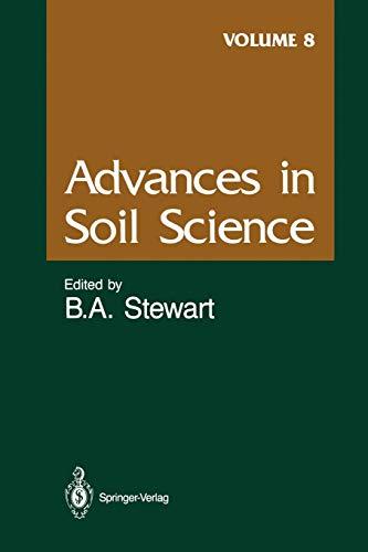 Advances in Soil Science By A.R. Bertrand
