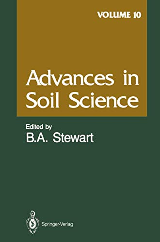 Advances in Soil Science By E.G. Beauchamp