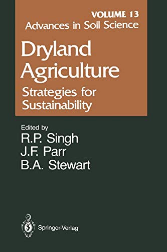 Advances in Soil Science By R.R. Allen