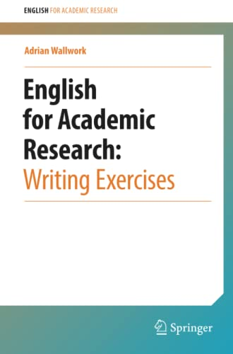 English for Academic Research: Writing Exercises by Adrian Wallwork