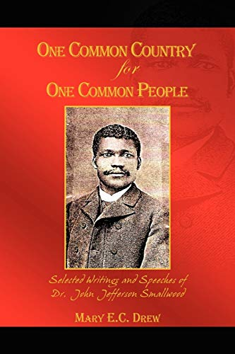 One Common Country for One Common People By Mary E C Drew