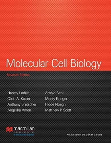 Molecular Cell Biology: International Edition By Angelika Amon