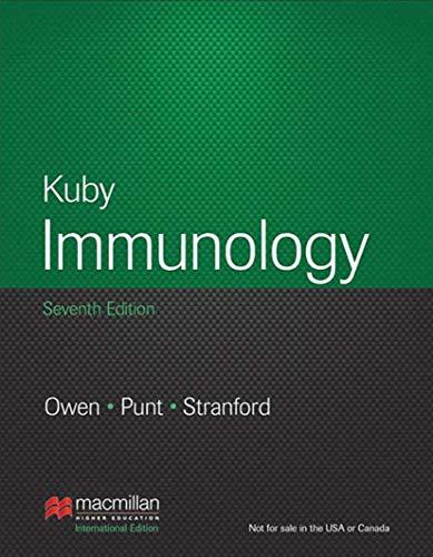 Kuby Immunology by Judy Owen