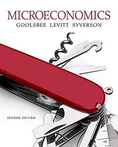Microeconomics By Austan Goolsbee