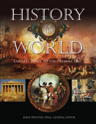 History of the World By John Whitney Hall (Yale University Connecticut)