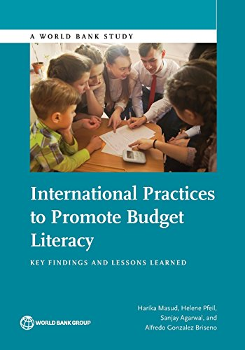 International practices to promote budget literacy By World Bank