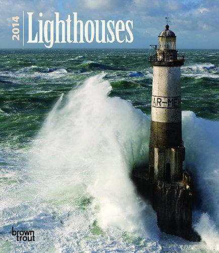 Lighthouses 2014 Desk Diary By BrownTrout