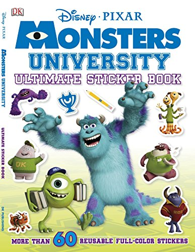 Ultimate Sticker Book: Monsters University By Dk Publishing